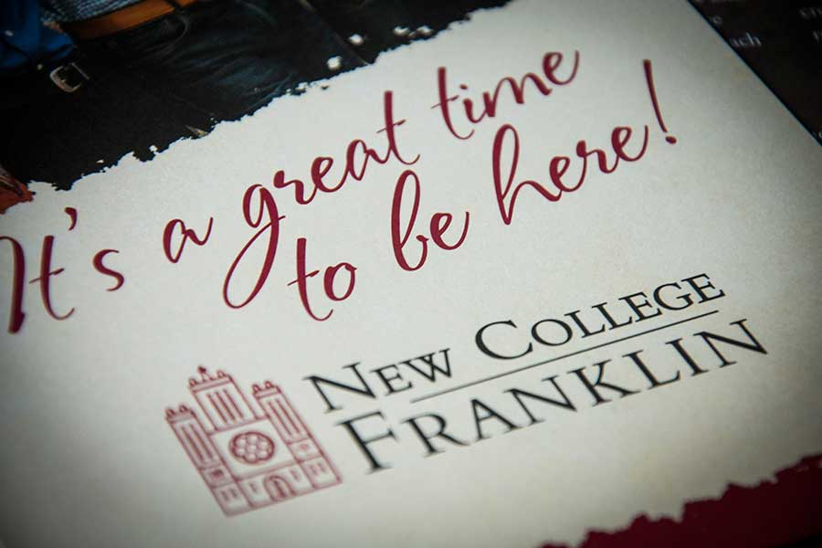 <span>New College Franklin Brochure</span><i>→</i>