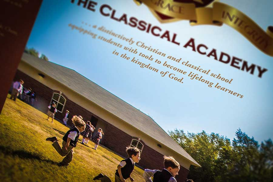 <span>The Classical Academy Brochure</span><i>→</i>