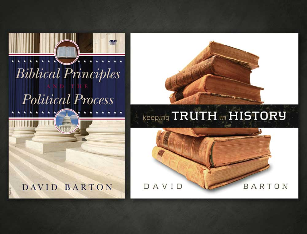 David Barton DVD/CD Packaging